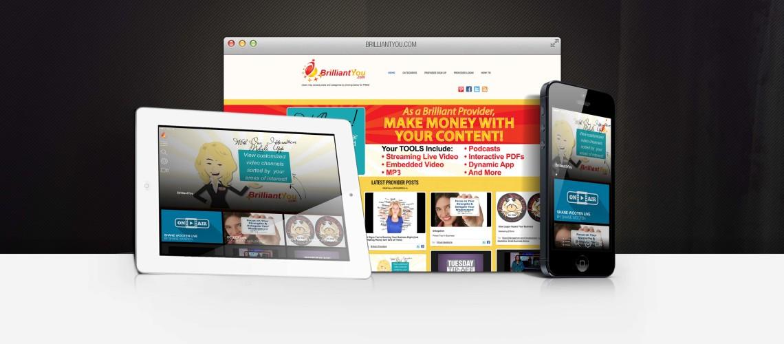 BrilliantYou.com App and Website