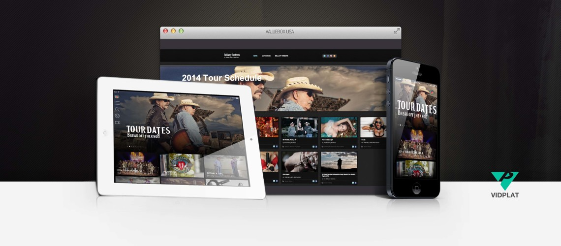 Bellamy Brothers App and Web